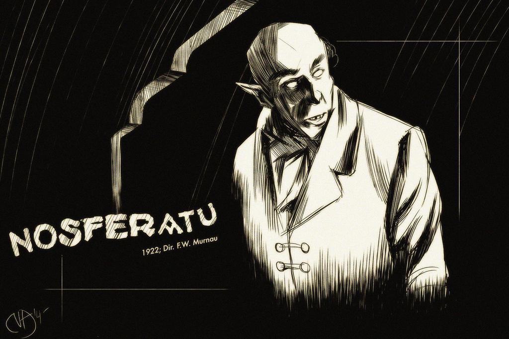 31 Days of Horror: Nosferatu by Deimos-Remus