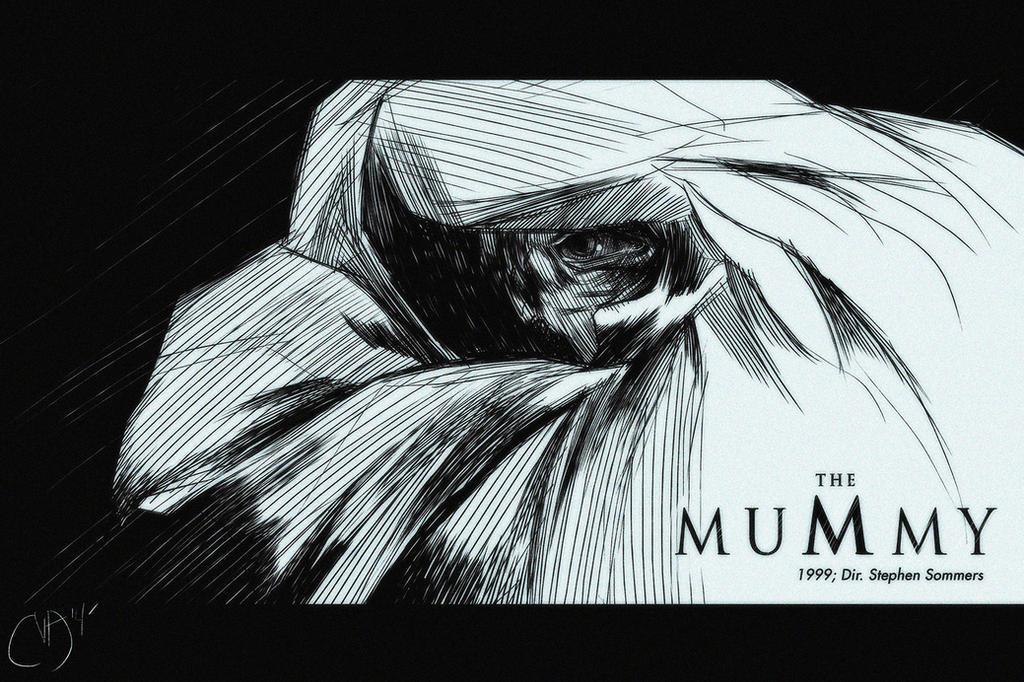 31 Days of Horror: The Mummy by Deimos-Remus