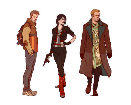 Neuromancer_Main Characters