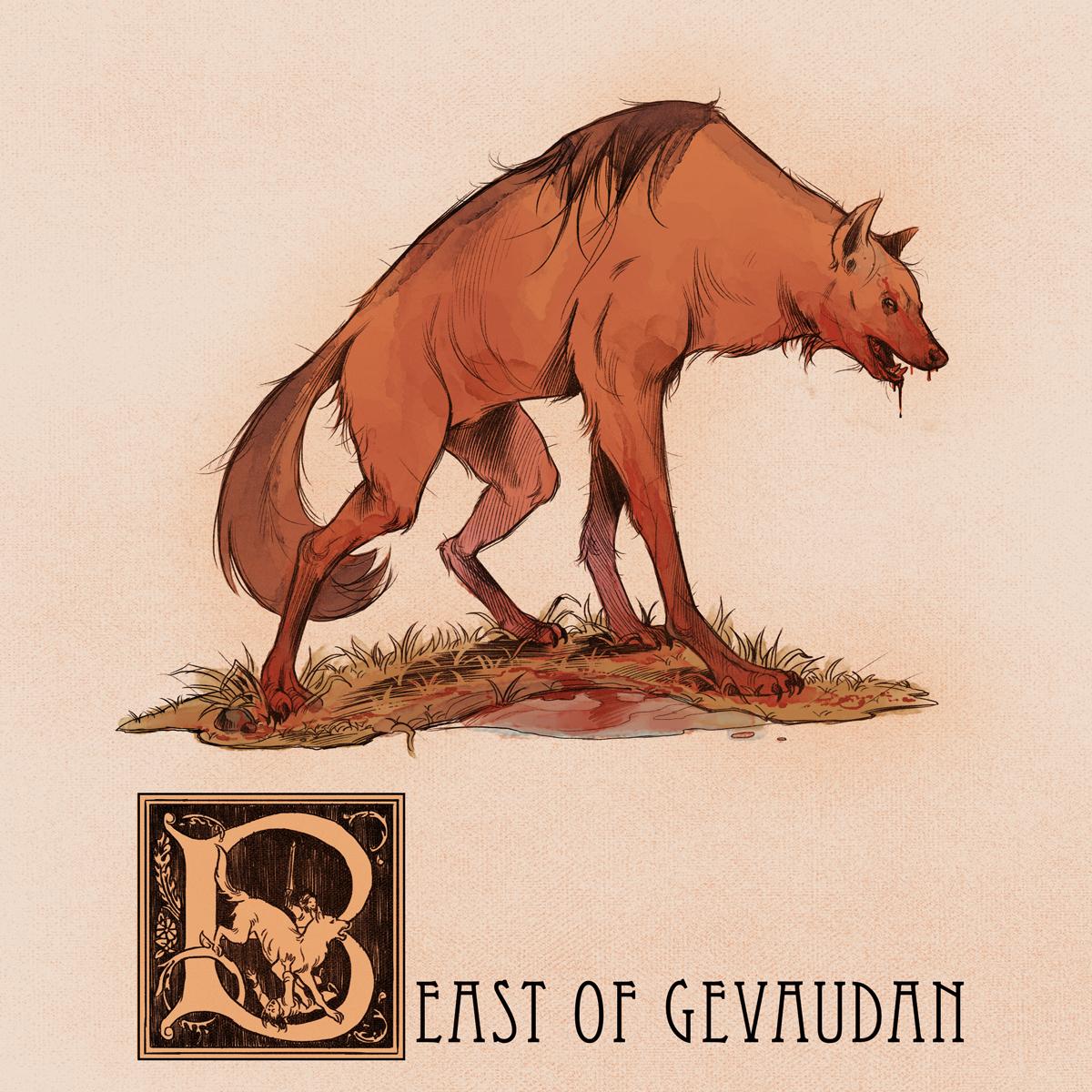 B is for The Beast of Gevaudan by Deimos-Remus