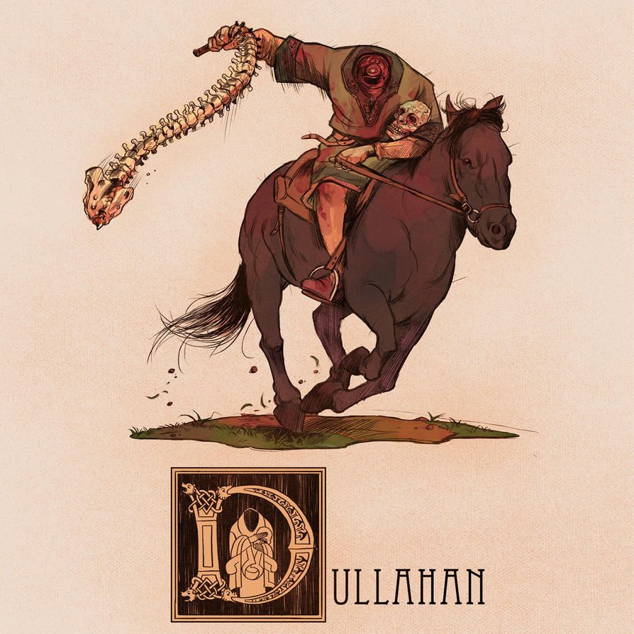 d is for dullahan by deimos remus on deviantart