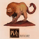 M is for Manticore