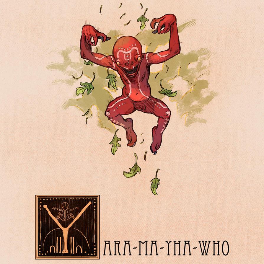 Y is for Yara-Ma-Yha-Who by Deimos-Remus