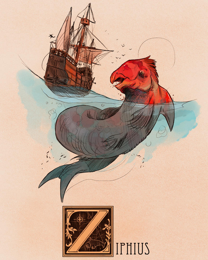 Z is for Ziphius by Deimos-Remus