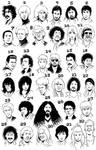 Musician caricatures: Guess!