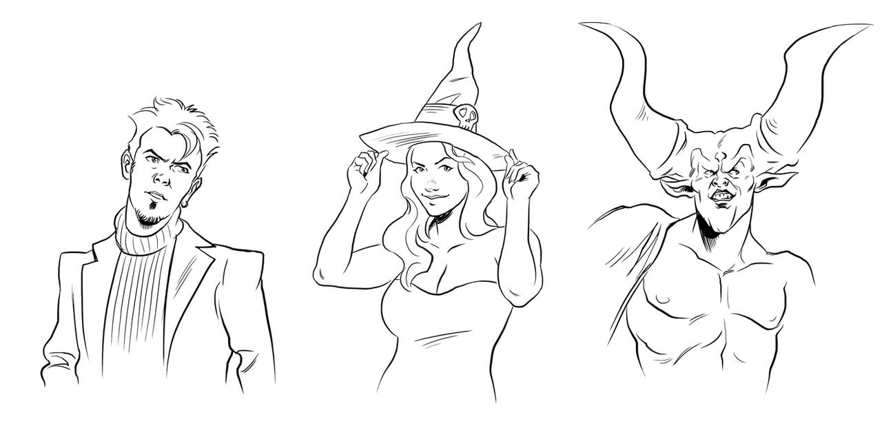Prize sketches by Deimos-Remus