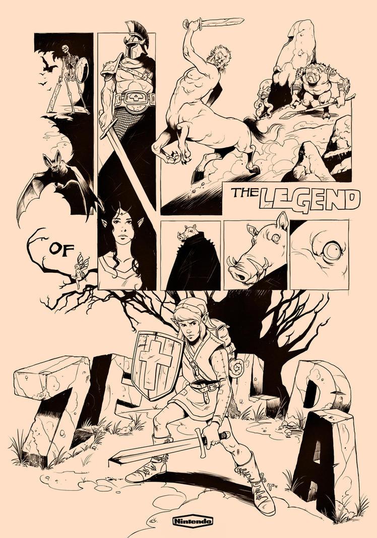 The Legend of Zelda: 30 years by Deimos-Remus
