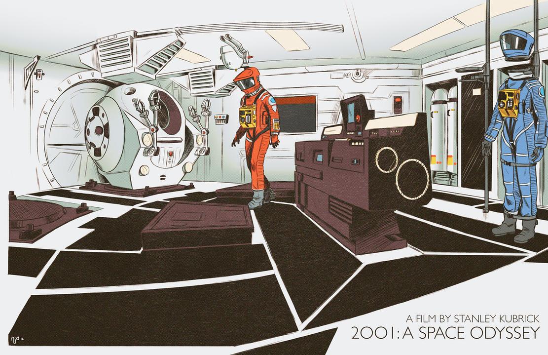 Open the pod bay doors, HAL. by Deimos-Remus