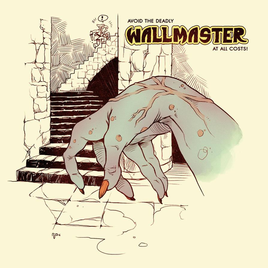 Link's Blacklist: The Wallmaster by Deimos-Remus