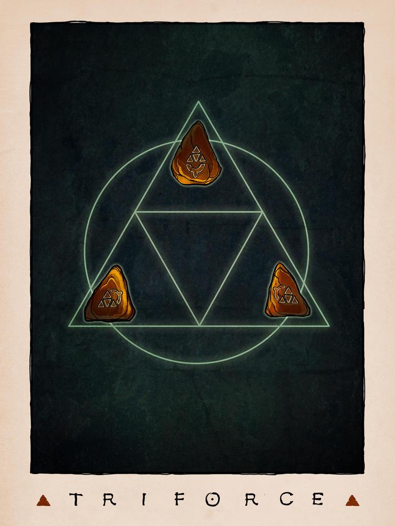 LOZ Redux: The Triforce by Deimos-Remus