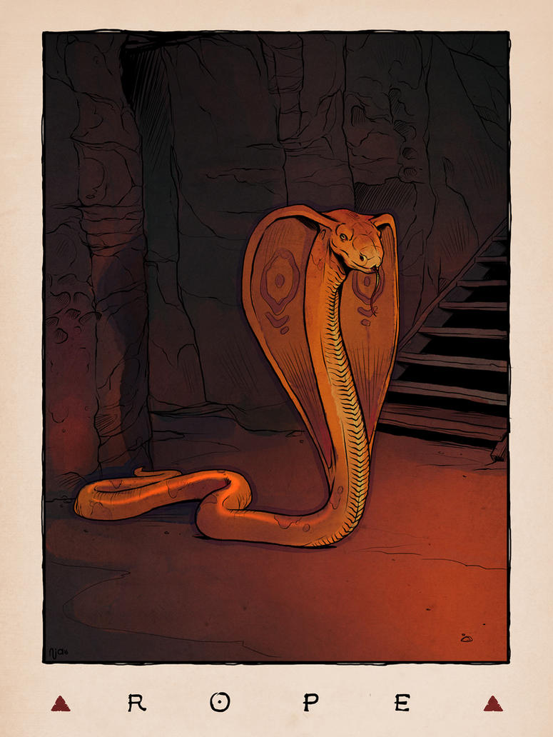 LOZ Redux: Rope by Deimos-Remus