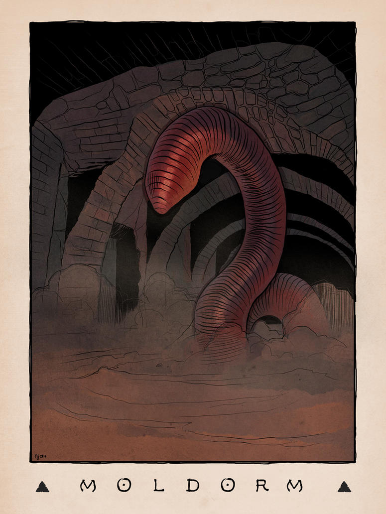 LOZ Redux: Moldorm by Deimos-Remus