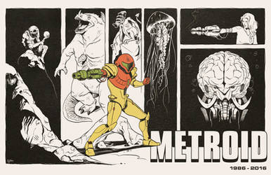 Metroid: 30 years by Deimos-Remus