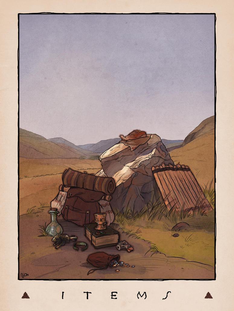 LOZ Redux: Items by Deimos-Remus