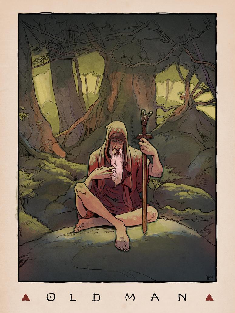 LOZ Redux: Old Man by Deimos-Remus