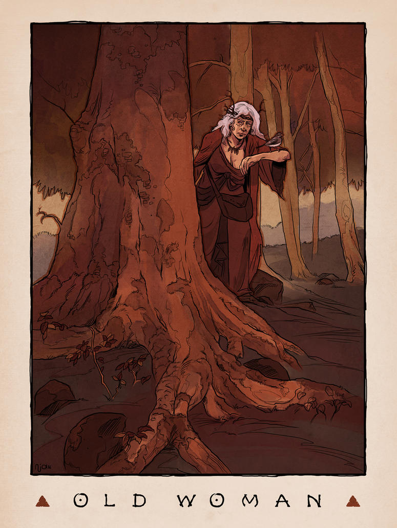 LOZ Redux: Old Woman by Deimos-Remus