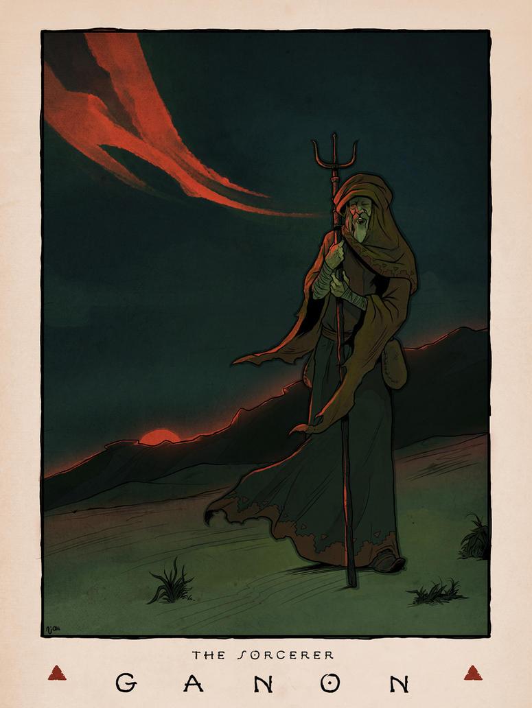 LOZ: Ganon the Sorcerer by Deimos-Remus