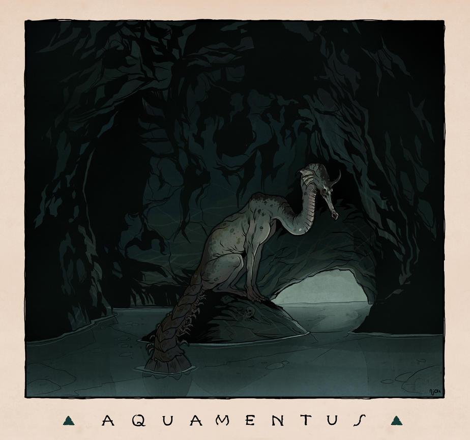 LOZ Redux: Aquamentus by Deimos-Remus