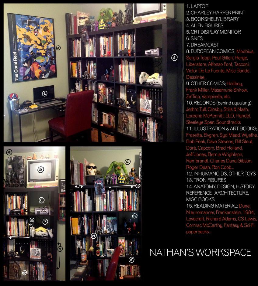 Workspace 2017 by Deimos-Remus