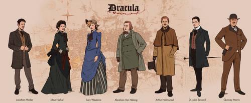 Bram Stoker's Dracula: Protagonists by Deimos-Remus