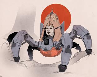 DOOM: Spider Mastermind by Deimos-Remus