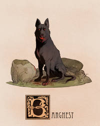 B is for Barghest