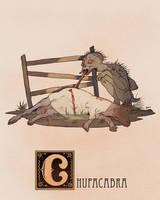 C is for Chupacabra by Deimos-Remus
