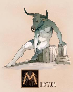 M is for Minotaur