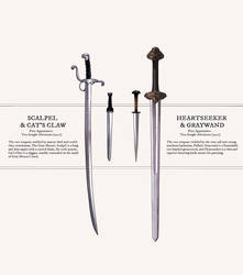 Fantasy Weaponry: Fafhrd and the Gray Mouser