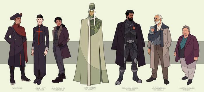 Hyperion: The Pilgrims