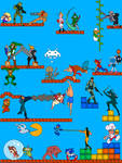 Video Game Battle