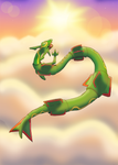 Above the Sky - Rayquaza