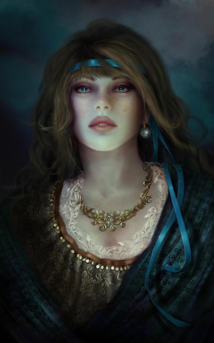 Blue Pearl by Evniki