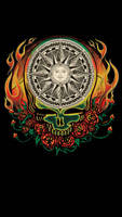 Grateful Dead Compass Flames
