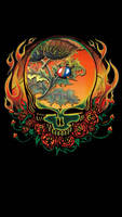 Grateful Dead Thistle Flames Steelie