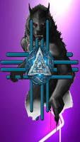 Werewolf Zia Nordic Valknut