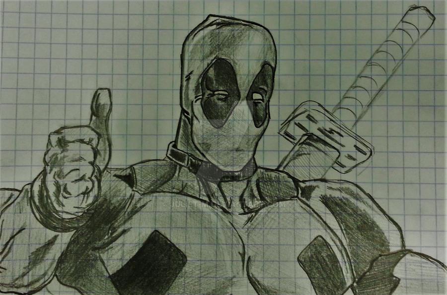 Deadpool by Juliet-M
