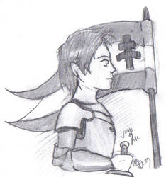 Joan of Arc by Magnam13