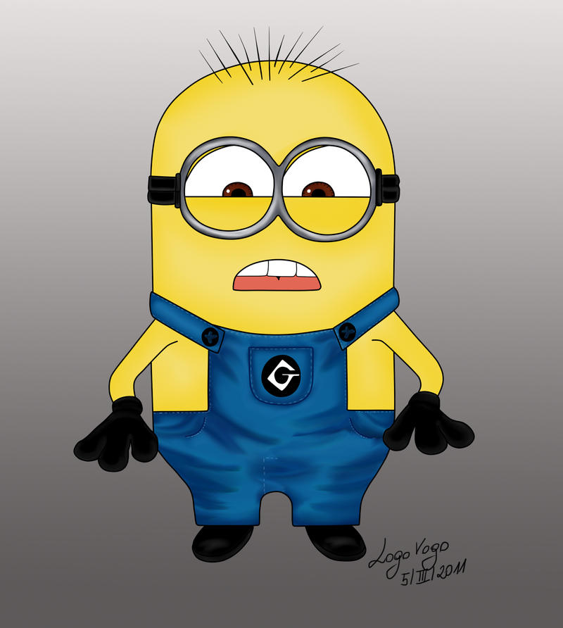 Despicable Me Minions Saying Papoy 64 - Minion from Despicable Me