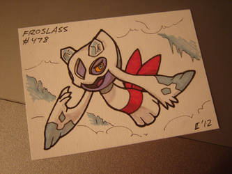 Froslass ACEO by Gryphon-HB