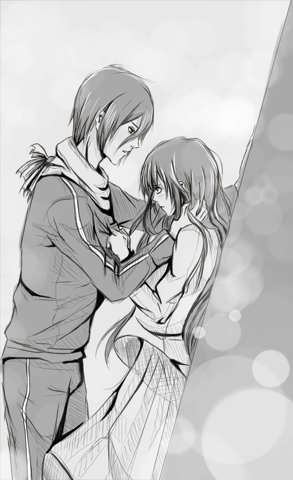 Yato And Hiyori By Kasukasu Chi6 On Deviantart