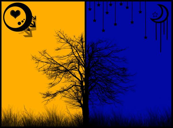 Night vs. Day by Firefly21405