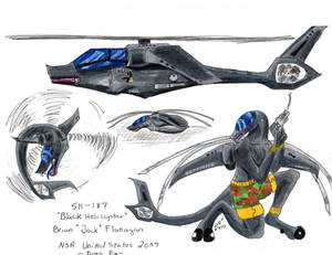 Jock the Black Helicopter