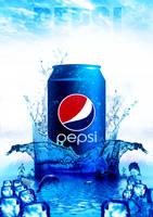 Pepsi Poster by AhmedAlmabdi