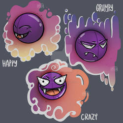 Pick your fave Gastly