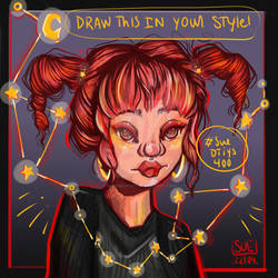 DTIYS (DRAW THIS IN YOUR STYLE) CONSTELLATION GIRL