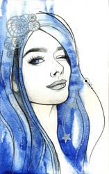 Blue Star by MariaReiter