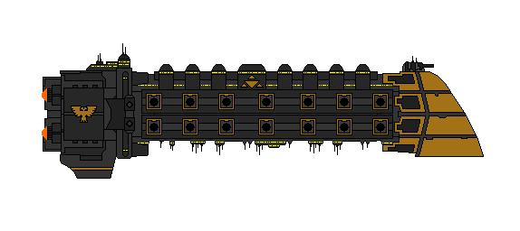 Warhammer 40K Luxus Liner by Seeras