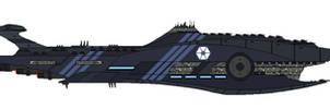 Star Wars  PD Subjugator-Class Heavy-Cruiser WIP