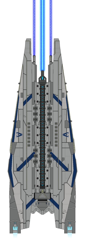 Mass Effect Olympus Mons-Class Dreadnought by Seeras